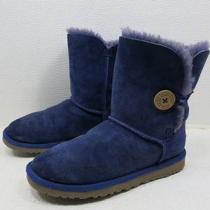 318e11eface UGG Australia 5803 Bailey Button Purple Boots 7